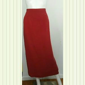 Travis Ayers maxi skirt 100 % Silk Size 16 NWT